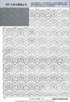 МОРЕ ХОРОШИХ СХЕМ  sexy-crochet.com