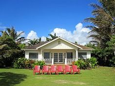 Kapaa Cottage Rental: Vintage Oceanfront Cottage : Recommended By Fodors 4 Years In A Row   HomeAway