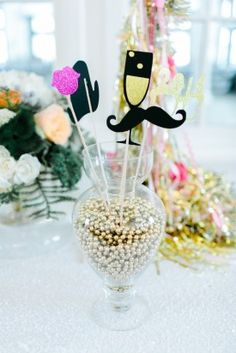 props new years eve wedding ideas Ashlee Virginia Events Rachel May Photography 1 275x412 Cheers! New Years Eve Wedding Party & Confetti Station