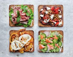 12 things on toast,