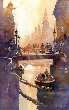 Iain Stewart Watercolors #watercolor jd