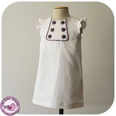 Kate's Dress  12 mths to 10 yrs  PDF Pattern by TheLilyBirdStudio, $7.90