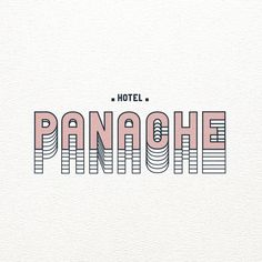 Logo Hôtel Panache - Paris (Top Design Color Schemes)