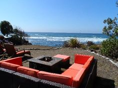 VRBO.com #158356 - Panoramic Oceanfront Views at Our Sea Glass Cottage!!