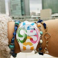 Swatch CLOCKWISE ©yoshi_textile