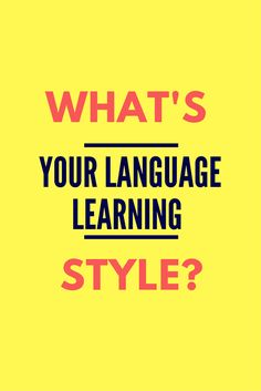 Are you a visual, auditory, or a kinesthetic learner? Discover which learning style suits you best to maximize your learning and hit your French language goals. Learning Style Quiz, Learning Theory, Learning Styles, Personal Style Quiz, My Style Quiz, Kinesthetic Learning, French Language Lessons, Study Skills, Learn French