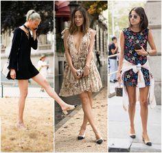Chanel Slingback Shoes Two-Tone - Preston Davis, Aimee Song and Leandra Medine