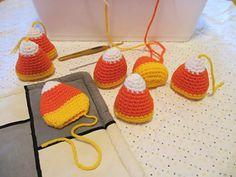 basic candy corn crochet pattern