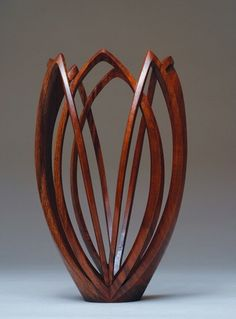*Wood Sculpture by Nikolai Ossipov (Walnut) Art Sculpture, Art Carved, Wood Creations, Wooden Art, Gourd Art, Wood Turning, Vases, Wood Crafts, Wood Projects