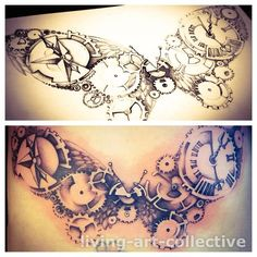 STEAM PUNK BUTTERFLY | Decorating Ourselves | Pinterest | Punk Steam ...