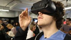Video: Here's the new Samsung Gear VR headset in action -> http://www.techradar.com/1325963  Samsung launched the brand new Galaxy Note 7 at a trio of events in New York London and Rio  but it wasn't just the phablet taking center stage. It was joined by an upgraded Gear VR headset too and we've been hands on to find out what's changed.  The big difference is the larger lenses giving you a wider field of view for a more immersive VR experience. The controls on the right of the headset have…