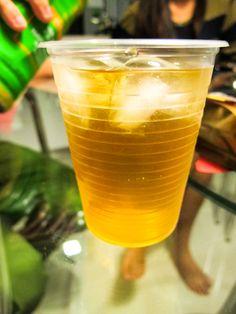 Chivas (Scotch whiskey) mixed with green tea