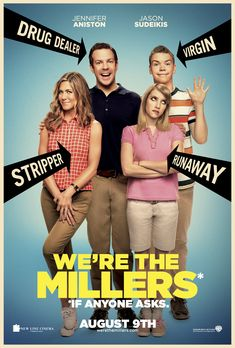 Jennifer Aniston gets strip-tastic with Jason Sudeikis in Were the Millers..great movie!