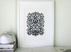 Maschera original ink drawing by smokov on Etsy, $50.00 Ink Drawings, Wall Art, The Originals, Unique Jewelry, Handmade Gifts, Etsy, Home Decor, Kid Craft Gifts, Decoration Home