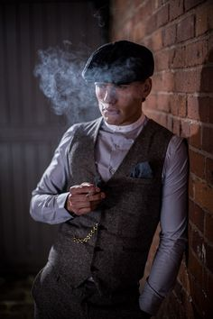 Inspired from BBC Two series Peaky Blinders and the styling of 1920's
