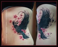 Blackbird Tattoo Designs | Pin Black Bird Tattoo Designs Tattoos Picture To Pinterest Picture: