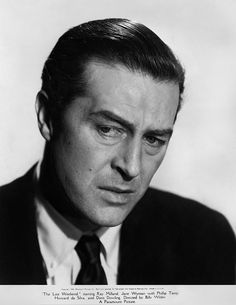 Ray Milland - The Losrt Week-End (1945)