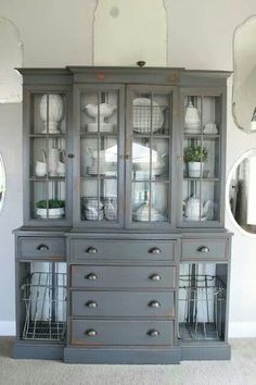 Like this look for my buffet cabinet