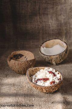 Thengai Sadam / South Indian Style Coconut Rice