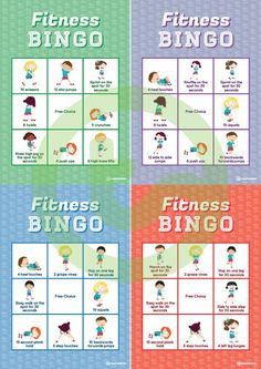 Pack of Fun - Quick Fitness Games Teaching Resource Fitness Bingo - Tap the pin if you love super heroes too! Cause guess what? you will LOVE these super hero fitness shirts! Physical Activities For Kids, Pe Activities, Health And Physical Education, Leadership Activities, Fitness Activities, Movement Activities, Educational Activities, Fitness Games For Kids, Exercise For Kids
