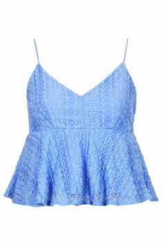 Peplum Lace Cami - Tops - Clothing, How would you style this? http://keep.com/peplum-lace-cami-tops-clothing-by-dria/k/0QPPw9gBGb/