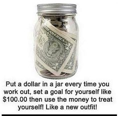 Now THIS is motivation! Girls with good bodies, hot dudes, and quotes simply don't work like money, man.