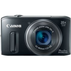 Canon PowerShot SX260 HS 12.1 MP CMOS Digital Camera with 20x Image Stabilized Zoom 25mm Wide-Angle Lens and 1080p Full-HD Video (Black) - http://allgoodies.net/canon-powershot-sx260-hs-12-1-mp-cmos-digital-camera-with-20x-image-stabilized-zoom-25mm-wide-angle-lens-and-1080p-full-hd-video-black/