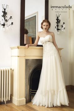 Inmaculada García 2014 Wedding Dresses — Savanna Tales Bridal Collection | Wedding Inspirasi