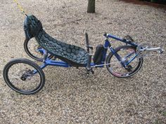 A home made front wheel drive delta trike...........