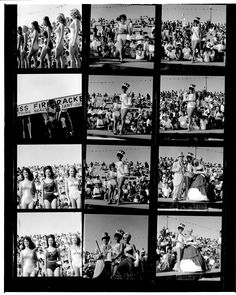 "Huntington Beach had a ""Miss Firecracker"" contest for July 4th in the 1960s.  More history at http://historichuntingtonbeach.blogspot.com/2014/07/happy-independence-day.html"