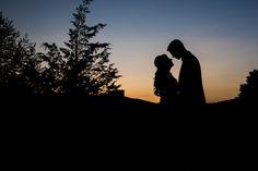 #bride #groom #weddingday #happycouple #justmarried #ido #silhouette #sunset #photography #anthonyziccardistudios