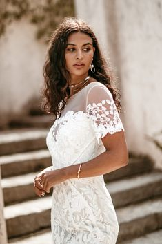 Untamed Heart | The Brand New Wedding Dress Collection from Lovers Society Lovers, Gowns, New Wedding Dresses, Dress Collection, Curves, Bell Sleeves, Backless, Romantic, Brand New