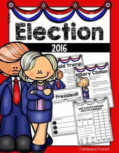 A unit that teaches about the 2016 presidential election.