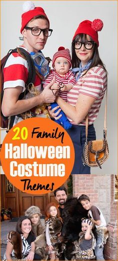 20 Family Halloween Costume Themes.