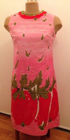 Vintage Vera 1960s Aline Strawberry Dress  by InTheMood4Vintage, $125.00