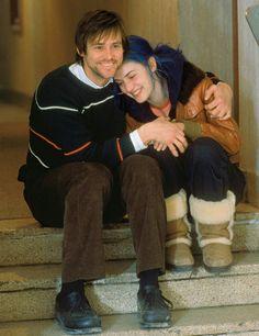 Jim Carrey y Kate Winslet. Lo nuestro es imborrable.