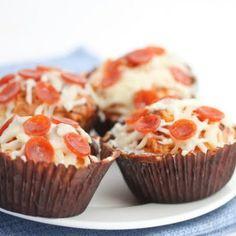 Νέα gourmet εμμονή: Pepperoni Pizza Cupcakes