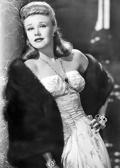 Ginger Rogers photo for Once Upon a Honeymoon (1942).... ..Uploaded By  www.1stand2ndtimearound.etsy.com