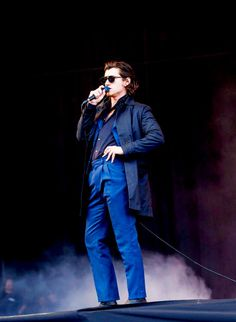 """tedystaleva: """" The Last Shadow Puppets at T in the Park, Strathallan, 9 July… Alex Turner Hair, 505 Arctic Monkeys, Monkey Puppet, I Hate Boys, Alex Love, The Last Shadow Puppets, Will Turner, Outfits, Ghost Cookies"""