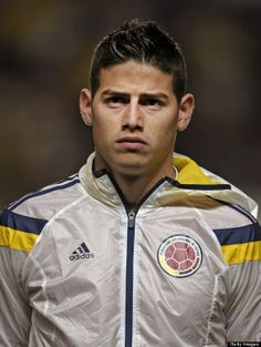 Colombian men can be hot. Just check out soccer pro James Rodriguez.
