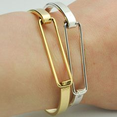 Open-Faced Bracelet Duo by SNASH JEWELRY