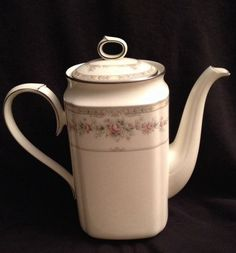 VERY RARE Noritake Shenandoah 9729 COFFEE POT !! Mint Condition  #Noritake #China #Collectibles