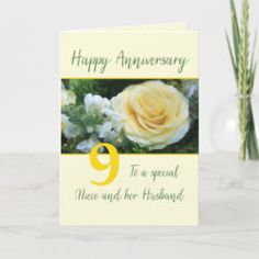 Customizable Anniversary Son and Wife Anniversary Flowers, Wedding Anniversary Cards, Wedding Cards, Happy Anniversary Sister, Anniversary Congratulations, Flower Invitation, Custom Greeting Cards, Thoughtful Gifts, Holiday Cards