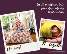 les 20 meilleurs tuto de couture pour faire ses cadeaux soi-même en 2019 Homemade Christmas, Diy And Crafts, Sewing, Handmade, Comme, Crochet, Patterns, Sewing For Beginners, Tutorial Sewing