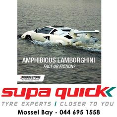 Our #tyres are known for performing in the wet – but this is taking it a little too far. What do you think? #Lamborghini