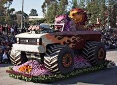 City of Alhambra float in the 2014 Rose Parade.