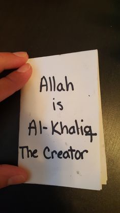"""Al-Khaliq (The Creator) mini-books.  This activity uses an 8.5"""" x11"""" sheet of paper folded into squares to make pages. On each page of the book, the kids draw/ color/ place stickers that tell about a different aspect of Allah being The Creator. First there was nothing, then Allah said """"Be"""" and it was. He created the universe, the sun, stars, and moon. He created the plants and animals. He created all of mankind."""