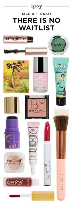 Receive 5 beauty products every month for just $10! Makeup bags personalized just for you. ipsy was founded by Michelle Phan. Get great beauty offers. Subscribe now!