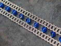 Bijoux: Bracelet en dentelle au fuseau