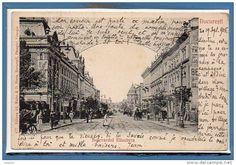 Bucuresti - Bd Elisabeta - 1905 Bucharest Romania, Vintage World Maps, Louvre, Memories, Travel, Beautiful, Cousins, Cards, Bucharest